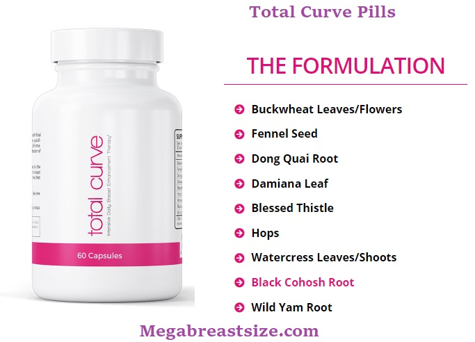 total curve pills ingredients