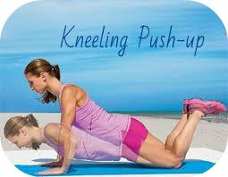 kneeling push up