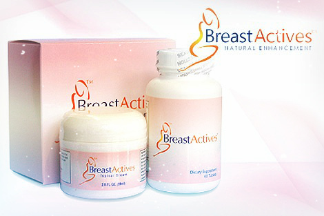 breast actives cream and pills